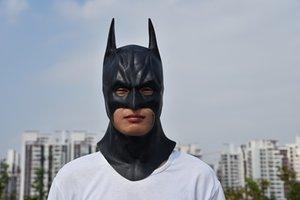 The Batman حزب قناع الفيلم تأثيري هالوين الوجه زي الكبار قناع واقعية اللاتكس الرجال qdanx