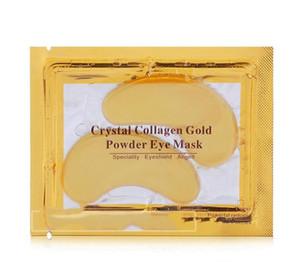 Anti-Wrinkle Crystal Collagen Gold Powder Eye Mask Golden Mask stick to dark circles DHL
