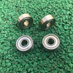 50 adet / grup S604ZZ S604 ZZ ABEC-5 4x12x4mm paslanmaz çelik rulman Bilyalı rulman çift korumalı 4 * 12 * 4mm 604 604ZZ