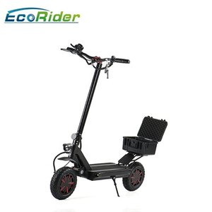 EcoRider Patinete Electrico Adults Powerful Foldable Scooter 3600W Trottinette Electrique With Double Drive