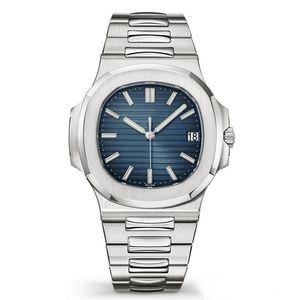 Üst SSS Orologio Lüks Man saatı Otomatik Mekanik Montre De Luxe Paslanmaz Çelik Nautilus Erkekler Erkek PP Spor İzle Saatler