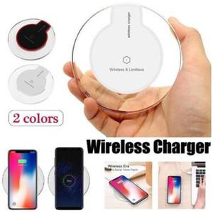Qi Wireless Charger caricatore del telefono Pad Fantasy Crystal Portable Tablet universale di illuminazione a LED di ricarica per iPhone Samsung S10e più