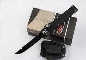 """뜨거운 판매 블랙 마이크로텍 헤일로 5 V 담당 나이프 4.6 """"150-1 D2 블레이드 담당 에지 야외 생존 전술 생존 칼 D110L"""