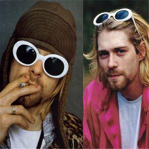 Роскошные дизайнерские солнцезащитные очки Women Clout Goggles Очки NIRVANA Kurt Cobain Солнцезащитные очки Классические мужские женские мужские солнцезащитные очки