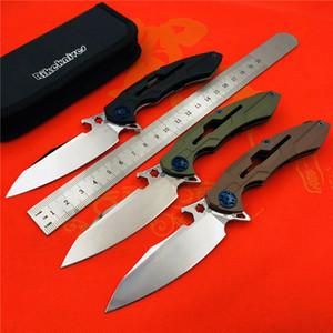 RIKE originale M3 pieghevole coltello 154CM acciaio pieghevole esterna coltello da campeggio escursionismo strumento di sopravvivenza piccolo strumento
