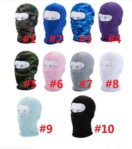 Esporte máscara de esqui ciclismo da bicicleta Máscara Caps Motorcycle Barakra Hat CS à prova de vento cabeça poeira define Máscara Camouflage Tactical