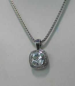 고급스러운 여성의 여성의 숙녀 크리스탈 큰 다이아몬드는 쇄골 체인 짧은 목걸이 스웨터 체인 펜던트