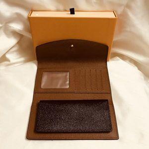 Dois peça terno clássico carteira padrão pu moda longa bolsa de dinheiro bolsa zíper bolsa moeda bolso nota compartimento conjunto gêmeo organizador wallet