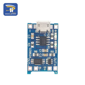 Freeshipping 50PCS LOT 1a 18650 lithium battery protection board charging module TP4056 with protection one plate module TC4056