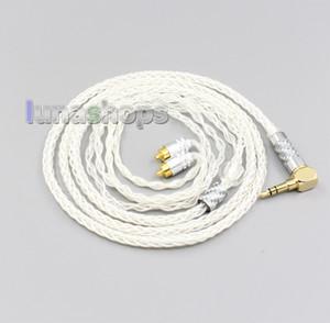 99% Pure Silver 8 de base de 2,5 mm 4,4 mm 3,5 mm XLR Câble écouteur pour Sony-M7 REI REI-M9-REI Z1R LN006472