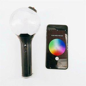 KPOP Lightstick Lamp BOMB ARMY Stick Bangtan Boys Concert Glow Lamp Hiphop Night Light Fans Gift