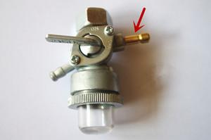 Válvula de combustible tipo de boquilla doble para parte Honda G100 G150 G200 grifo de combustible del motor de reemplazo del grifo de gasolina