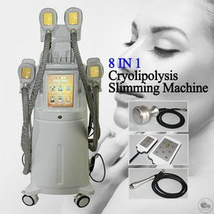 Einfrieren Fat Cryolipolysis 8 Lipo Laser-Pads Kryotherapie Body Contouring Maschine Körperformung Wirkung Ultraschall Radio Frequency Fat Loss