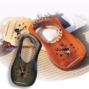Lyre harpe Lyre petite harpe Le Qinqin instrument de musique grec chargé de cours débutant de haute qualité