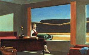 Rep. Edward Hopper -5 Home Decor pintado à mão HD cópia da pintura a óleo sobre tela Wall Art Canvas Pictures 191124