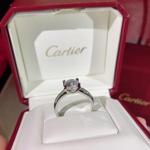 로마 반지 보석 상감 큐빅 지르코니아 실버 반지 여성 럭셔리 디자이너 보석 여성 반지 약혼 반지