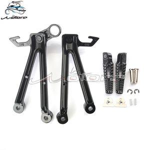 Rear footpegs Foot pegs Footrest Pedals Bracket For GSXR1000 GSXR 1000 GSX1000R K5 2005-2006 2005 2006 05-06 05