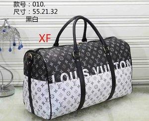 a buon mercato all'ingrosso duffle Keepall 45cm pacchetto dei bagagli degli uomini di viaggio di alta qualità borse in pelle borse tracolla frizione pacchetto messenger