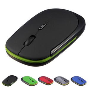 Мини 2.4 ГГц беспроводная мышь гладкая рука чувство ультра тонкий мини USB приемник сменный 1600DPI оптическая мышь
