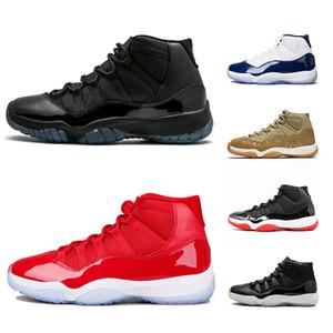 Nike Air Jordan 11 Retro Concord 11 11s Scarpe da pallacanestro Platinum Tinta Cap and Gown Uomo Donna UNC Gym Red Gamma Blue Olive Lux Sport Sneaker