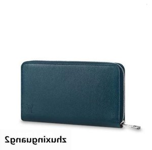New M30515 Zippy Organiser Men Real Leather Long Wallet Chain Wallets Compact Purse Clutches Evening Key Card Holders