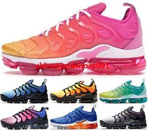 EUA tamanho 5 12 46 13 47 VMS ar Mulheres vapores homens TNS 2019 Tênis de corrida dos homens da forma mais tn Sapatilhas max Formadores crianças corredores chaussures
