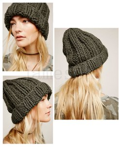 Kadınlar Kış Bere Şapka Örme Bayanlar Moda Sıcak Yumuşak Katı Renk Kayak Şapkalar DC129