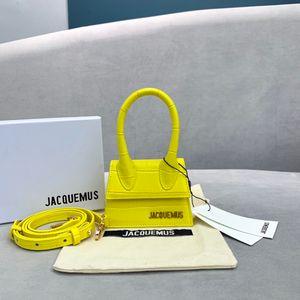 nueva de lujo diseñadores del bolso de la marca Jacquemus los mini amantes esposa regalos hija del patrón del cocodrilo hombro mensajero bolsas crossbody femeninos