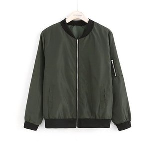 2019 gym New Fashion European and American fashionable men's jacket casual simple solid-coloured Baseball Jacket with vertical collar
