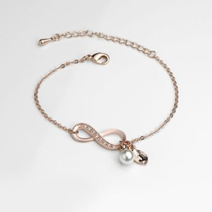 New Design for Elegant Women Gold&Silver Plated Bracelet Zirconia with Bracelet for Mothers Day Gift Wedding Gift