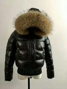 핫 브랜드 여성 DOWN JACKET SHORT COAT MAYA OUTWEAR 다운 재킷 재킷 코트 3 색 후드 코트