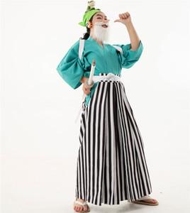 TEK PARÇA Wa No Kuni Usopp Cosplay Kostüm Cadılar Bayramı Kostüm Giydirme