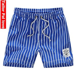 Striped Board Shorts Beach Swimming Shorts for Men Bordshorts Bermuda Swimwear Surf Swimshorts Quick Dry Swimsuit