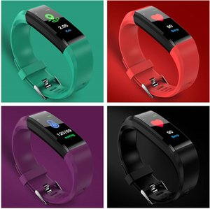 2020 Smart Sport Wristband Fitness Watches Tracker Step Counter Heart Bracelet Indoor Outdoor Activity Monitor Band Wristband