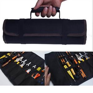 أكياس أداة متعددة الوظائف العملي حمل مقابض أكسفورد قماش إزميل لفة أكياس أداة 3 ألوان جديدة حالة الصك