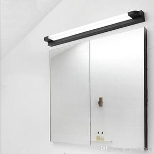 Moderna Specchio LED Light Bathroom Vanity lampada da parete Makeup Dressing Table degli specchi lampada Colore Bianco / Nero
