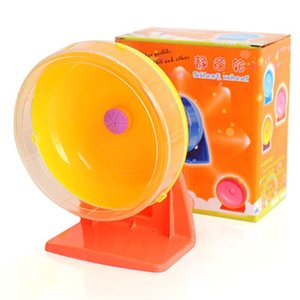 Hamster Mute Running Wheel Golden Bear Sports Wheel Bracket Hamster Toy Silent Pet Treadmill Super Silent Runner Small Animal Supplies
