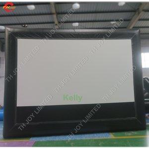 4.8 * 4.06m باستمرار نفخ الهواء شاشة السينما نفخ للبيع رخيصة شاشات المسرح الإسقاط نفخ