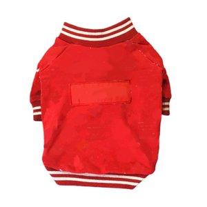 Fashion Dog Clothes French Bulldog Baseball Uniform Sweatshirt for Chihuahua Coat Cotton Jacket for Puppy Dropshipping PC0970