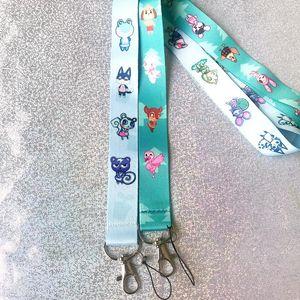 cinturino in Animal Crossing Giochi per bag key card cellulare accessori fai da te Lanyard