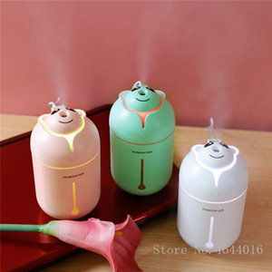 EJOAI portátil USB umidificador de ar Aromaterapia bonito Óleo Essencial Dika Urso Ultrasonic névoa fria Maker com luz colorida