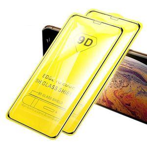 9D Tam Kapak Cam Film Xiaomi Redmi Note9 için Pro Max 10 T Lite 5G Temperli Cam Ekran Koruyucu Kılıf Iphone 12 Pro Max 11 XR XS 678+