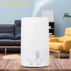 Mini Aroma Diffuser Life Appliances Cambio de color Aromaterapia Humidificador de aire Purificador de luz nocturna Difusión automática Apagado