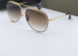 Gafas de sol Pilot Sunglasses Oro / Brown Gradient Box Hombres para tonos Moda Moda Lente con metal Nnjxd