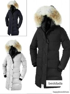 Luxury Winter outdoors Canada long section thickening warm fashion hooded s goos jacket Outlet for women down coat