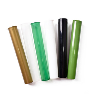 Plastic King Size Doob Tube Waterproof Airtight Smell Proof Odor Cigarette Solid Storage Sealing Container Pill Case Rolling Paper Tube