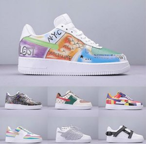 2019 New Arrivals Autumn Winter Full Colors Graffiti Volt 1 Running Shoes Top Quality Fashion Leather Flat Casusal Shoes Sneakers news