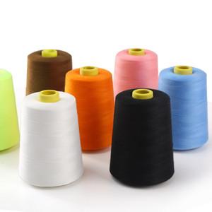 Commercio all'ingrosso 8000 Yard poliestere cucito Wear-resistina macchina ricamo in filo Multi Color Quality Home Textiles