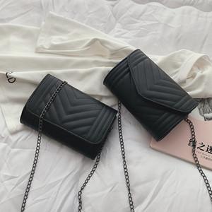 Free2019 Bag Lattice Diamond Woman Summer Chain Ristrutturare Single Shoulder Square Package Small Incense