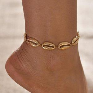 Sea Shell Bijoux Sandy Beach Accessoires Bracelet Posimi Deuxième Nation Wind Shell alliage Ornements Femme Anklet Anklet